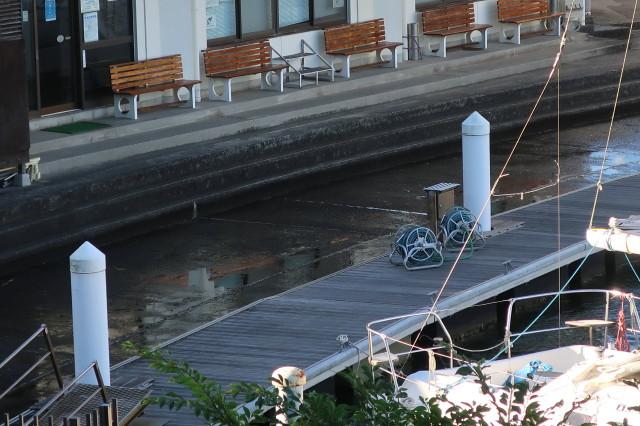 台風10号のときの 高潮